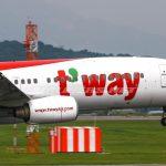 Tàu bay của T'way Air