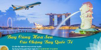 Vé máy bay khứ hồi chỉ 112 USD từ Vietnam Airlines