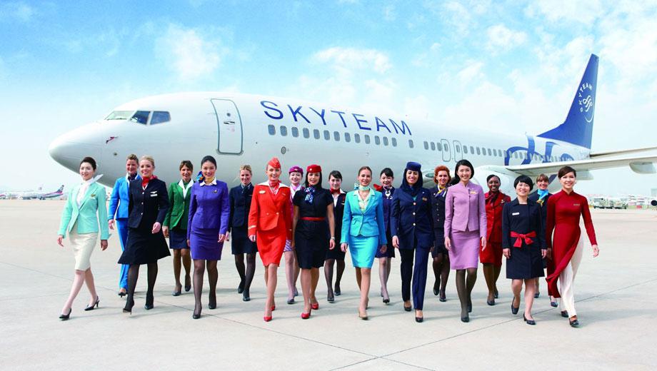 Vietnam Airlines là thành viên của Skyteam