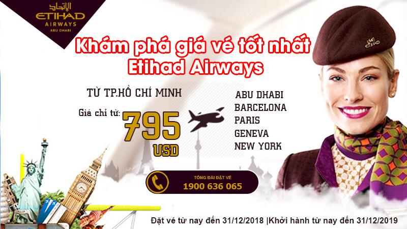 Kết nối những điểm đến hàng đầu cùng Etihad Airways