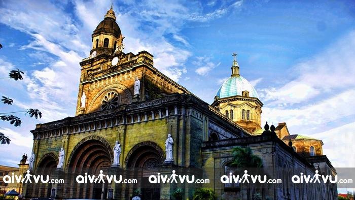 Du lịch thủ đô Manila với nhiều công trình kiến trúc cổ độc đáo