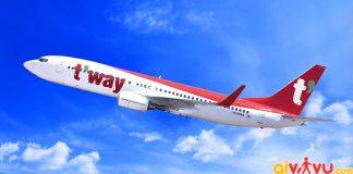 T'way Air mở đường bay thẳng từ Daegu đến Hà Nội