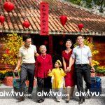 Đi du lịch cùng người dân và gia đình