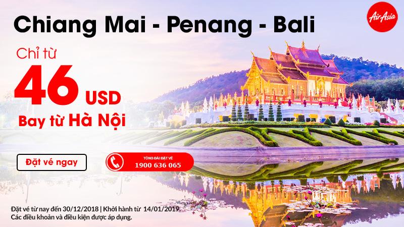 Thời điểm vàng du lịch Thái Lan chỉ từ 46 USD