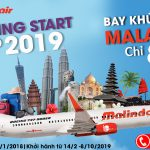 Tận hưởng ưu đãi từ Malindo Air chỉ với 88 USD vé khứ hồi