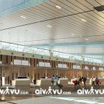 Quầy thủ tục hàng không tại sân bay quốc tế Vân Đồn