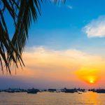 Hoàng hôn trên bãi biển Vũng Tàu
