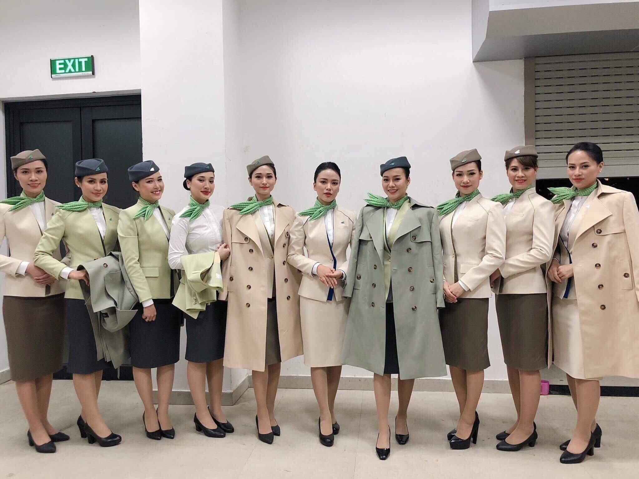Đội ngũ tiếp viên của Bamboo Airways