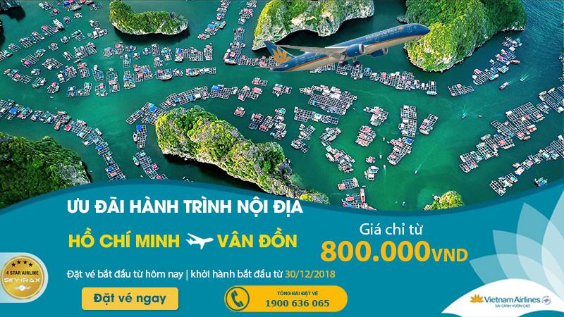 Vé Vietnam Airlines chỉ 800.000 VNĐ