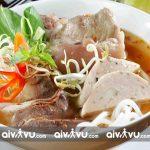 Bún bò Huế món ăn bạn sẽ được thưởng thức tại Đà Nẵng