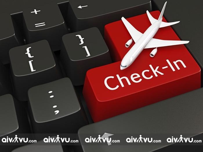 Check-in online trước chuyến bay