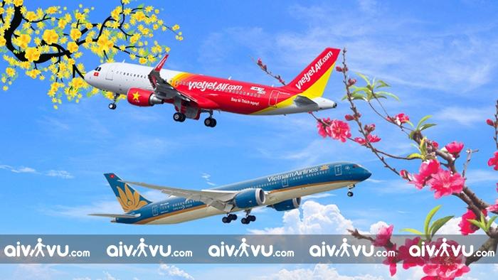 Giá cước vận chuyển mai đào Tết 2021 của các hãng hàng không