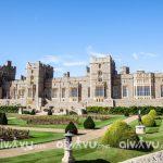 Lâu đài Windsor một trong những lâu đài ấn tượng tại Anh