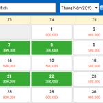 Bảng giá vé máy bay hành trình Hà Nội đi Hồ Chí Minh tháng 5