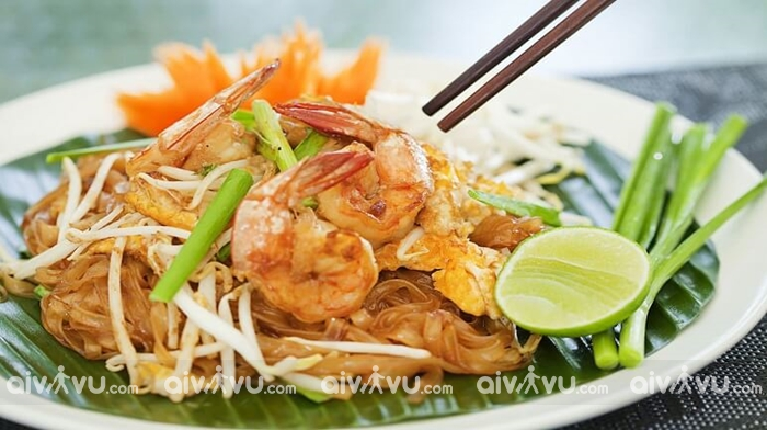 Gia Pad Thái một trong những món ăn nổi tiếng nhất tại Thái Lan