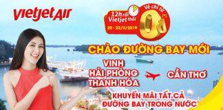 Săn vé máy bay 0 đồng từ Vietjet khám phá vẻ đẹp đất nước