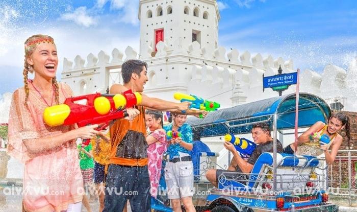 Ghé thăm Thái Lan hòa mình cùng lễ hội đón năm mới