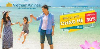 Khuyến mãi từ Vietnam Airlines vé máy bay chỉ 9 USD chào hè 2019