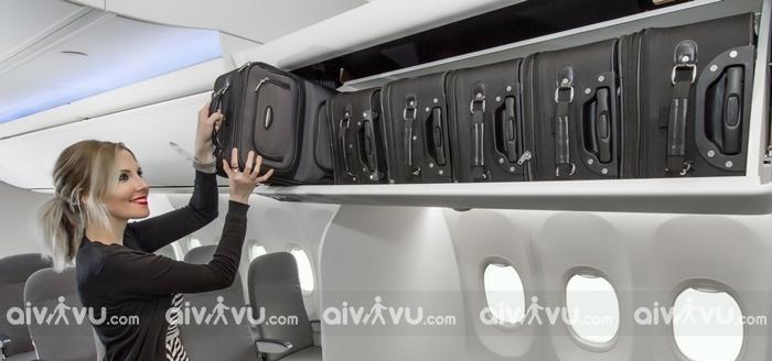 Kích thước hành lý phù hợp sẽ giúp đảm bảo an toàn