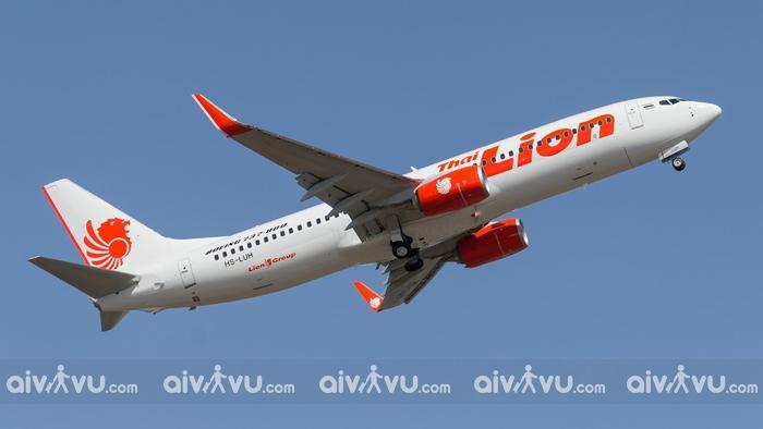 Bạn có thể Đặt vé máy bay đi Thái Lan giá rẻ từ Thai Lion Air