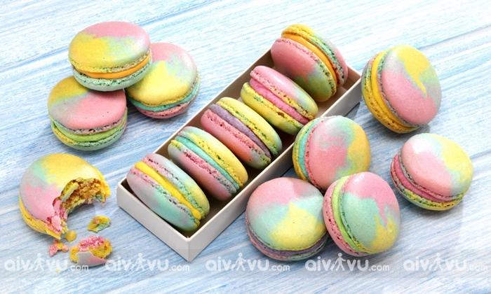 Bánh Macaron món bánh ngọt đặc trưng của Pháp