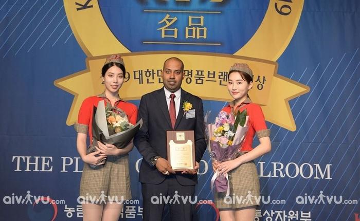 """Vietjet Air được vinh danh là """" Thương hiệu chất lượng dịch vụ"""" tại Hàn Quốc"""