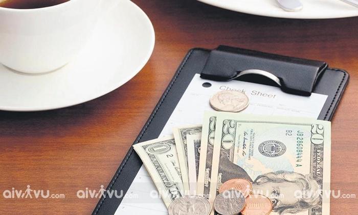 Để lại tiền tip