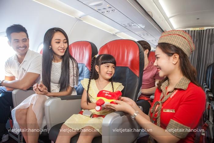 Vietjet Air hãng hàng không chất lượng dịch vụ