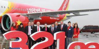 Vietjet nhận bàn giao máy bay A321neo mới tại Toulouse Pháp