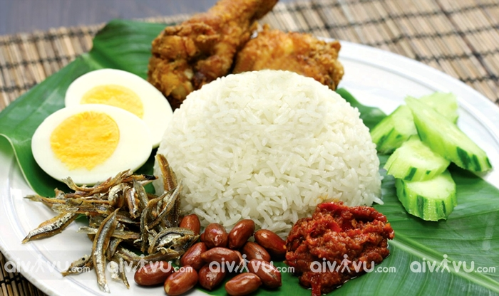 Cơm cà ri Nasi Kandar - Malaysia