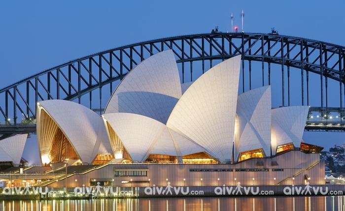 Đặt vé máy bay đi Sydney đừng quên ghé nhà hát và cầu cảng Sydney