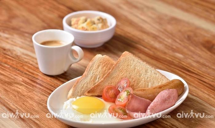 Bánh mì nướng Kaya món ăn sáng được người Singapor yêu thích