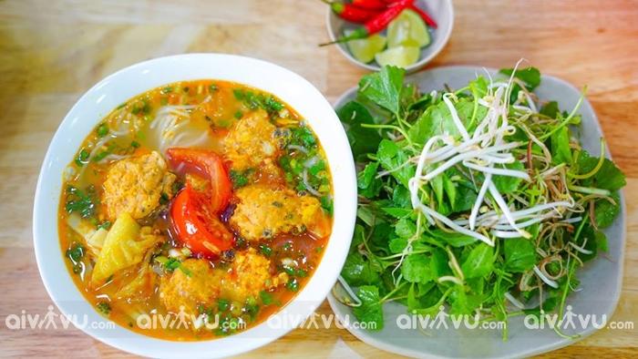 Bún chả cá món ăn nhất định phải thử khi đến Nha Trang