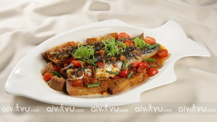 Cá Chuồn kho Mít đặc sản Chu Lai