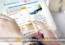 Hướng dẫn check online Vietnam Airlines