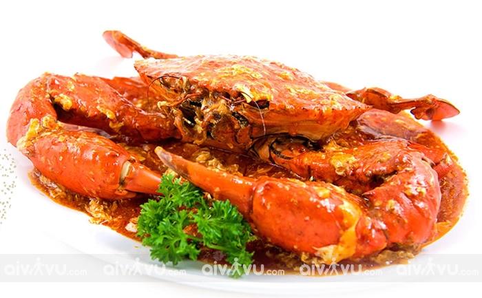 Cua sốt ớt món ăn nổi tiếng nhất tại Singapore