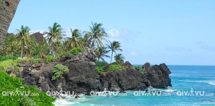 Đảo Lý Sơn địa điểm được yêu thích nhất tại Chu Lai