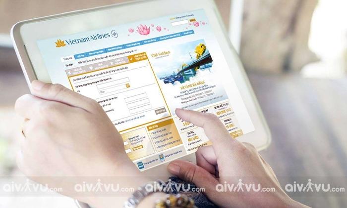 Hướng dẫn cách check in online Vietnam Airlines
