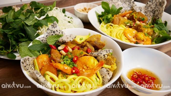 Mỳ Quảng món ăn nổi tiếng tại Quảng Nam