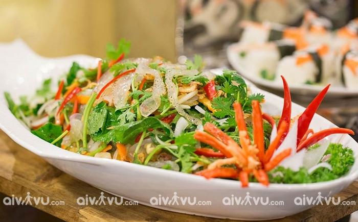 Sứa trộn món ăn được yêu thích khi đến Quảng Ninh