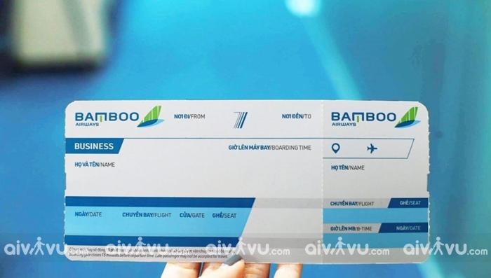 Đổi trả vé, ngày bay, hành trình của Bamboo Airways