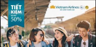 """Bay cùng Vietnam Airlines """"không hành lý ký gửi"""" giảm ngay 50% giá vé"""