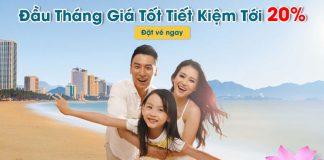 Vietnam Airlines khuyến mãi giảm 20% giá vé máy bay đầu tháng 5