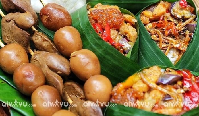 Ẩm thực đặc trưng của Jakarta