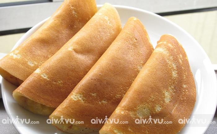 Apom Balik món bánh hấp dẫn nhất tại Johor Bahru