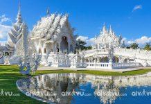 Đền Wat Rong Khun - Chiang Mai