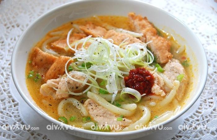 Món cháo canh Quảng Bình
