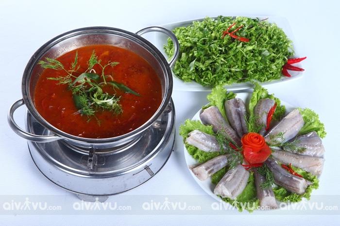 Lẩu cá khoai - Quảng Bình