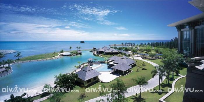 Quần thể The Empire Hotel & Country Club khách sạn nổi tiếng nhất Brunei