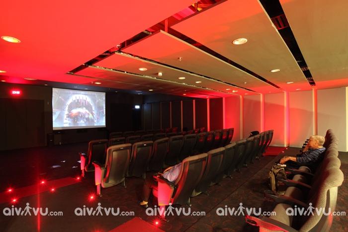 Rạp chiếu phim tại sân bay Changi